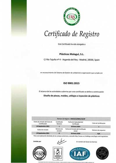 Certificados URS